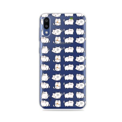 Capa para Galaxy M10 - Lazy Cat