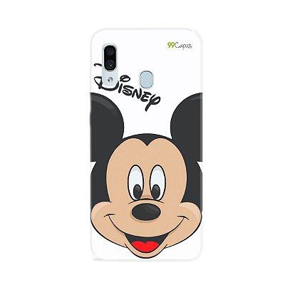 Capa para Galaxy A30 - Mickey