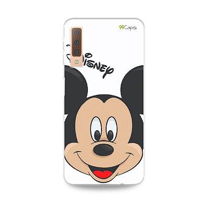 Capa para Galaxy A7 2018 - Mickey