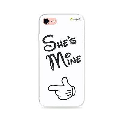 Capa para iPhone 7 Plus - She's Mine
