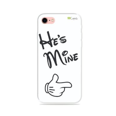 Capa para iPhone 8 Plus - He's Mine