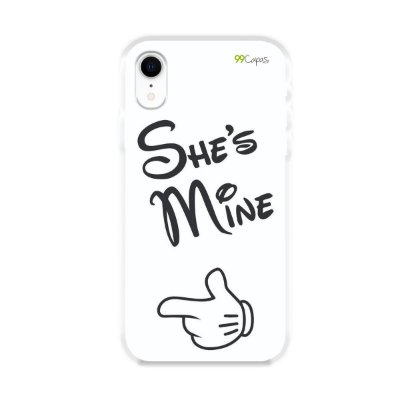 Capa para iPhone XR - She's Mine