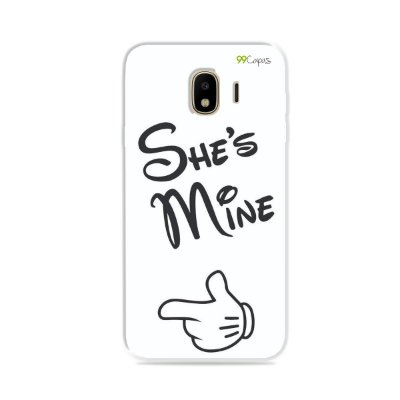 Capa para Galaxy J4 2018 - She's Mine