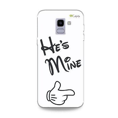 Capa para Galaxy J6 - He's Mine