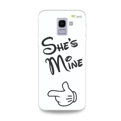 Capa para Galaxy J6 - She's Mine