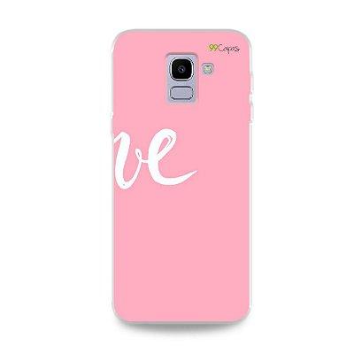 Capa para Galaxy J6 - Love 2