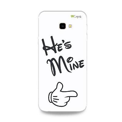 Capa para Galaxy J4 Plus - He's Mine