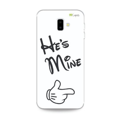 Capa para Galaxy J6 Plus - He's Mine