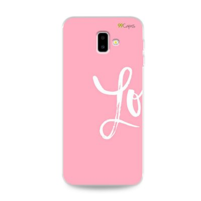 Capa para Galaxy J6 Plus - Love 1