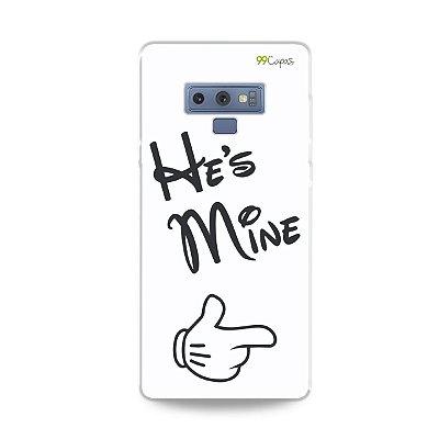 Capa para Galaxy Note 9 - He's Mine