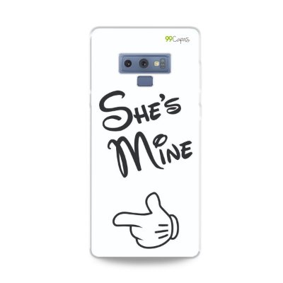 Capa para Galaxy Note 9 - She's Mine