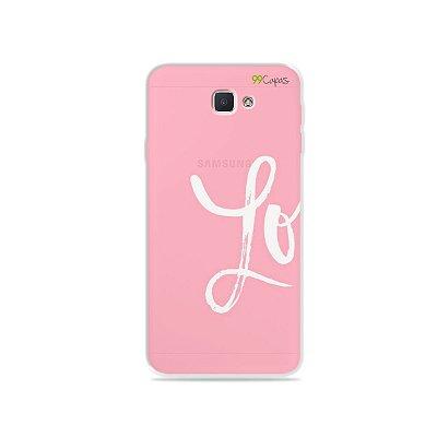 Capa para Galaxy J7 Prime - Love 1