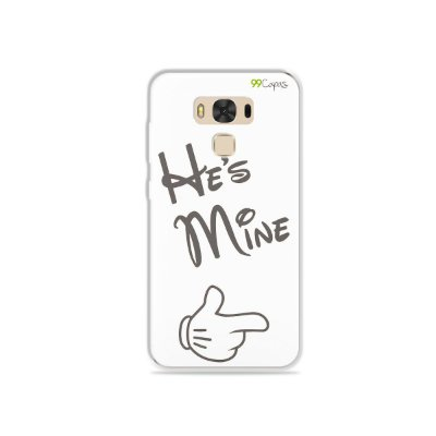 Capa para Asus Zenfone 3 Max - 5.5 Polegadas - He's Mine