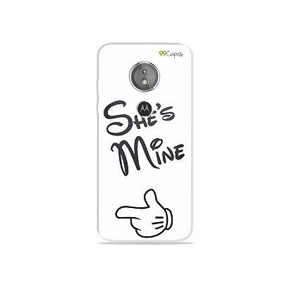 Capa para Moto E5 - She's Mine