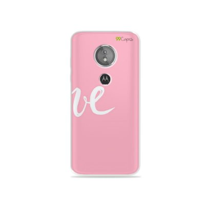 Capa para Moto E5 - Love 2