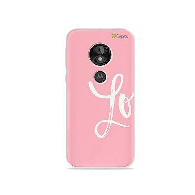 Capa para Moto E5 Play - Love 1