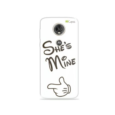 Capa para Moto E5 Plus - She's Mine