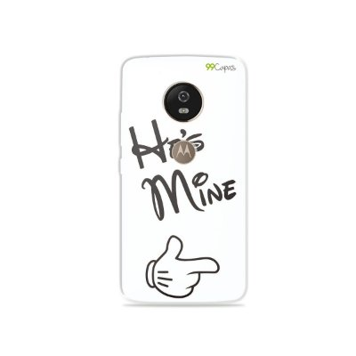 Capa para Moto G5 - He's Mine
