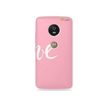 Capa para Moto G5 - Love 2