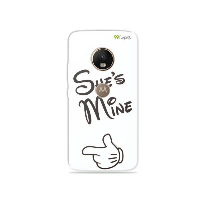 Capa para Moto G5 Plus - She's Mine