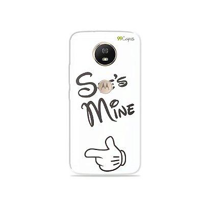 Capa para Moto G5S - She's Mine