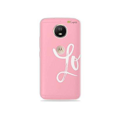 Capa para Moto G5S - Love 1