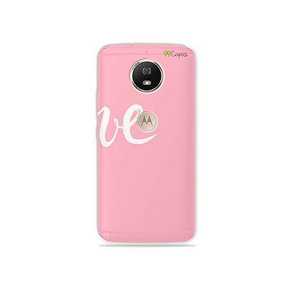 Capa para Moto G5S - Love 2