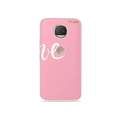 Capa para Moto G5S Plus - Love 2