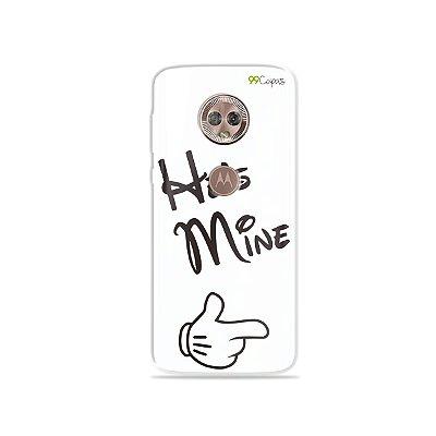 Capa para Moto G6 - He's Mine