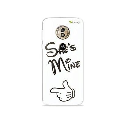 Capa para Moto G6 Play - She's Mine