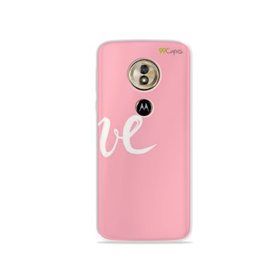 Capa para Moto G6 Play - Love 2