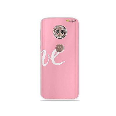Capa para Moto G6 Plus - Love 2