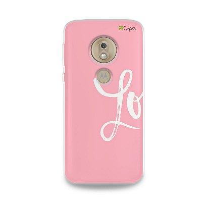 Capa para Moto G7 Play - Love 1