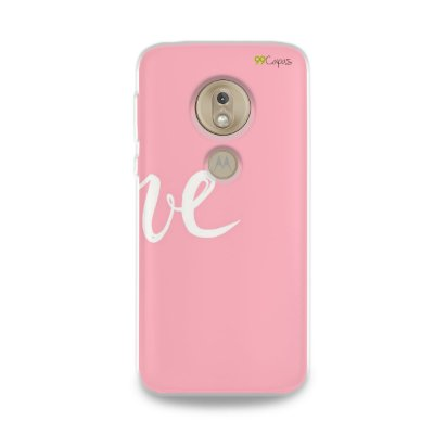 Capa para Moto G7 Play - Love 2