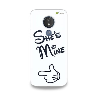 Capa para Moto G7 Power - She's Mine