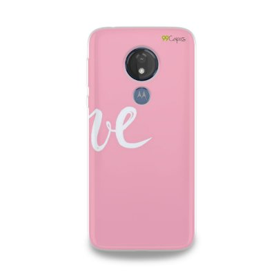 Capa para Moto G7 Power - Love 2