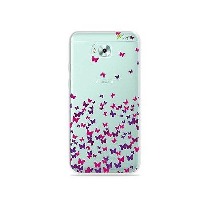 Capa para Zenfone 4 Selfie - Borboletas Flutuantes