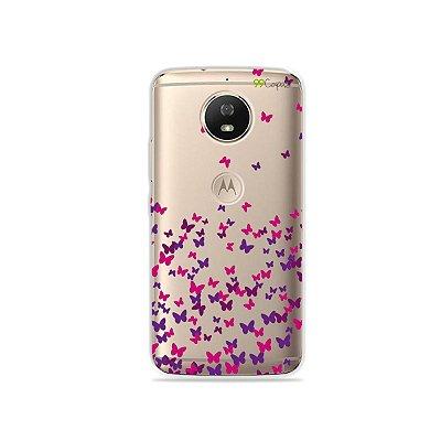Capa para Moto G5S - Borboletas Flutuantes