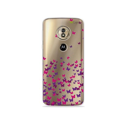 Capa para Moto G6 Play - Borboletas Flutuantes