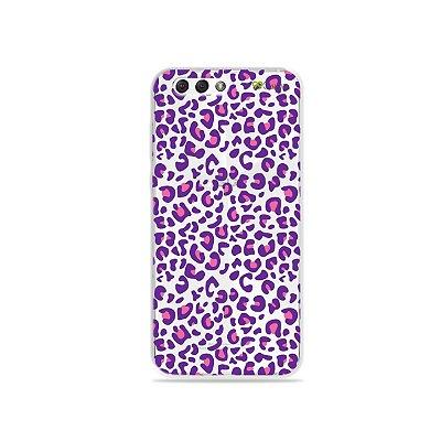Capa para Zenfone 4 - Animal Print Purple