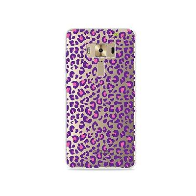Capa para Zenfone 3 Deluxe - 5.7 Polegadas - Animal Print Purple