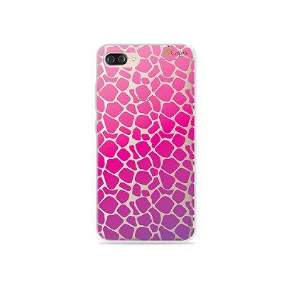 Capa para Zenfone 4 Max - Animal Print Pink