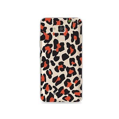 Capa para Asus Zenfone 3 Max - 5.2 Polegadas - Animal Print Red