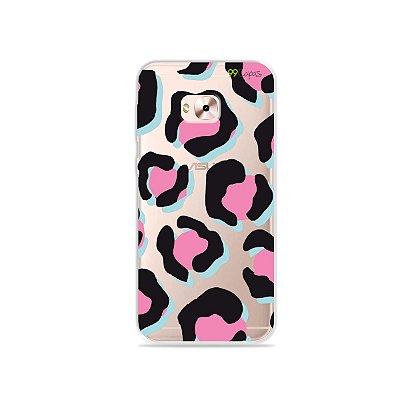 Capa para Zenfone 4 Selfie Pro - Animal Print Black & Pink