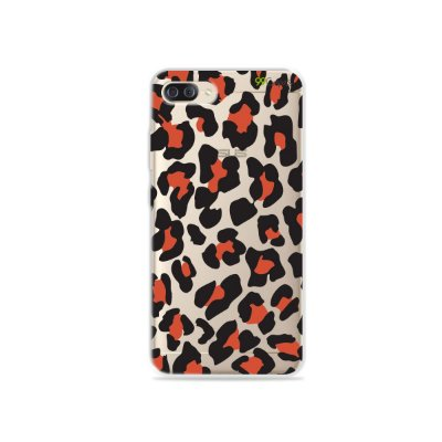 Capa para Zenfone 4 Max - Animal Print Red
