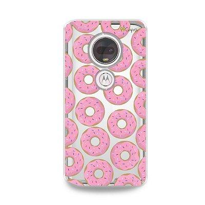 Capa para Moto G7 Plus - Donuts