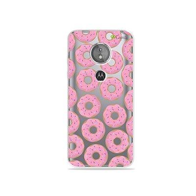 Capa para Moto E5 - Donuts