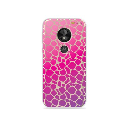 Capa para Moto E5 Play - Animal Print Pink