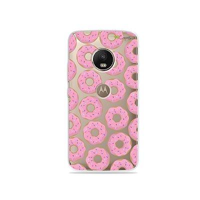 Capa para Moto G5 Plus - Donuts
