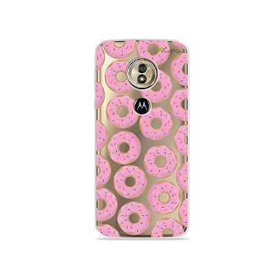 Capa para Moto G6 Play - Donuts